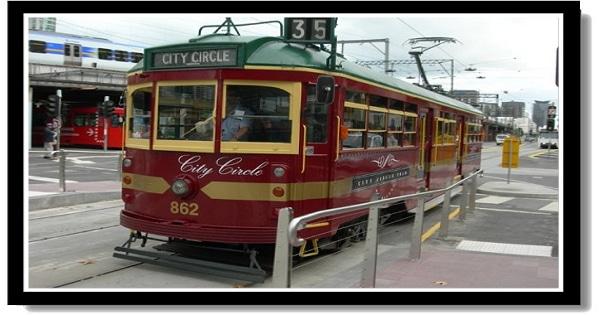 墨爾本市區免費觀光電車 Free City Circle Tram