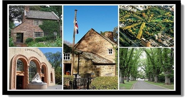 墨爾本市區景點-費茲羅花園和庫克船長小屋Fitzroy Garden & Captain Cook`s Cottage