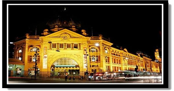 墨爾本市區景點-弗林德斯車站Flinders Street Station