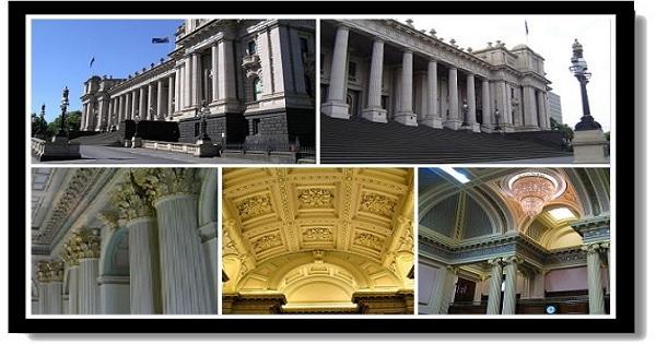 墨爾本市區景點-維多利亞國會大樓 Parliament House