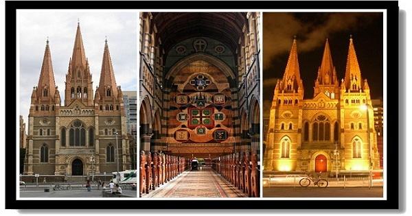 墨爾本市區景點-聖保羅大教堂St. Paul Cathedral