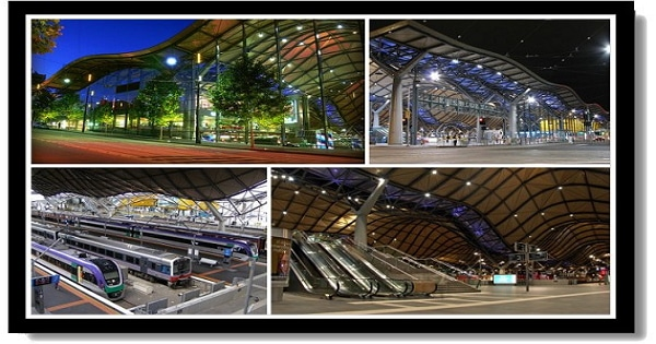 墨爾本市區景點-南十字星車站Southern Cross Station