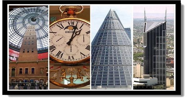 墨爾本市區景點-中央商場 & 子彈工廠Melbourne Central & The Coop's Shot Tower