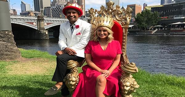 墨爾本蒙巴節國王及皇后