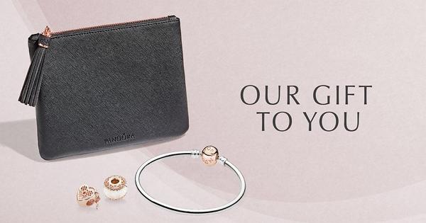 【2018墨爾本10月特價通知】PANDORA買玫瑰金系列送玫瑰金手環和限量版PANDORA手拿包