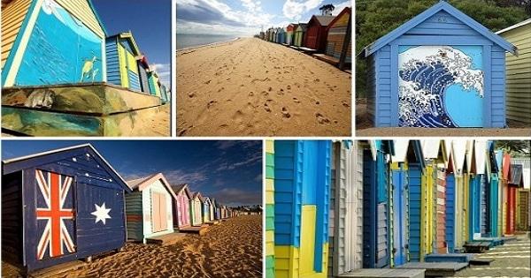 墨爾本Brighton 彩虹小屋