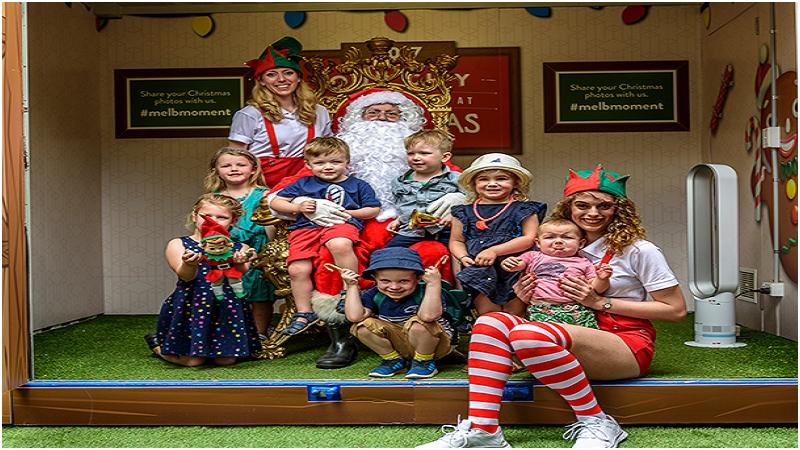 墨爾本聖誕老公公小屋